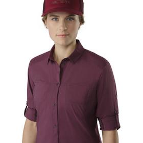 Arc'teryx W's Fernie LS Shirt purple reign